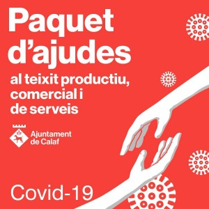 Paquet d'ajudes al teixit productiu, comercial i de serveis