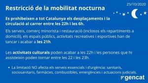 Restricció a la mobilitat nocturna