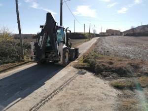 Inici obres camí del Pou de Calaf - 3 novembre 2020