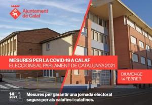 Mesures per garantir una jornada electoral el 14F segura