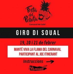 Giro di Soual - joc itinerant Festa Pellofa