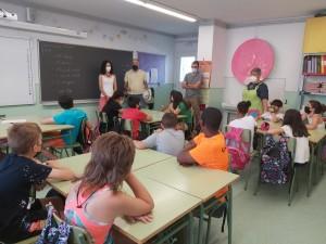 Visita i entrega d'obsequis la classe de 5è A
