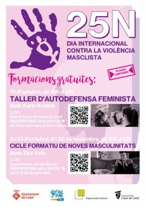 Activitat 25-N - 'Taller d'autodefensa feminista'