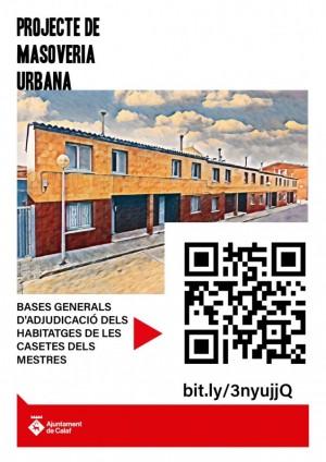 Bases procés d'adjudicació projecte masoveria urbana