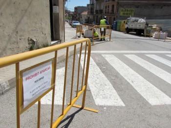 Canvis mobilitat a l'avinguda de la Pau