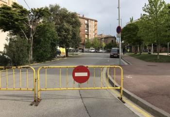 Tallada l'avinguda de la Pau