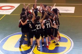 Infantil femení campiones 2016-2017