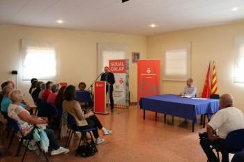 Una delegació de Soual visita Calaf en el desè aniversari de l'agermanament