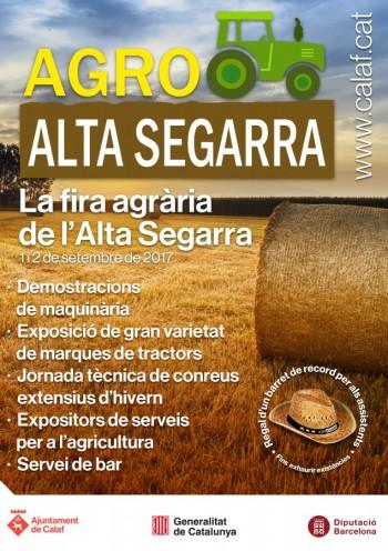 Cartell Agro Alta Segarra