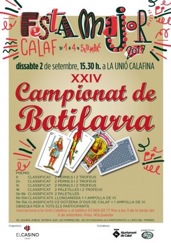 XXIV Campionat de Botifarra