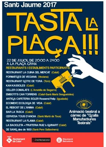 Tasta la plaça 2017