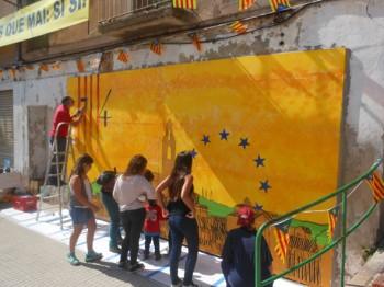 Pintada del mural