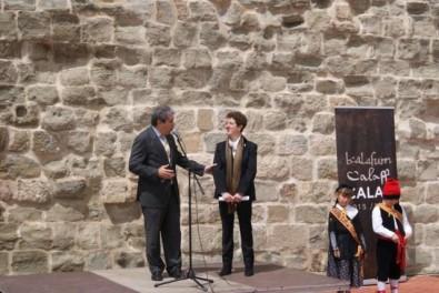Mil·lenari 26.04.14 El conseller Homs i l'alcaldessa Trullàs