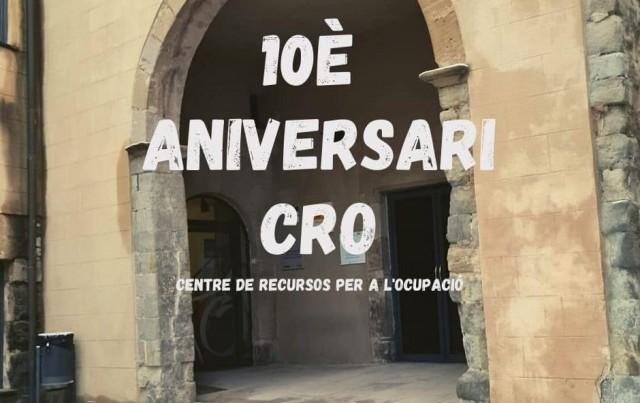 El CRO celebra el seu desè aniversari