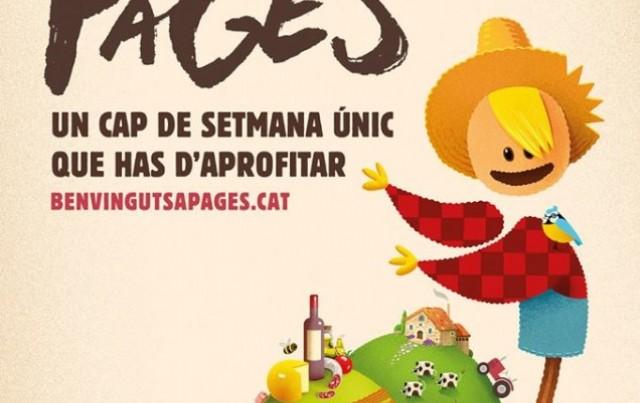 Participem a la 3a edició de 'Benvinguts a Pagès'