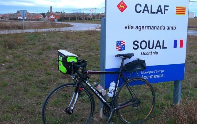 Una cinquantena de ciclistes participen en la Brevet Calaf – Soual