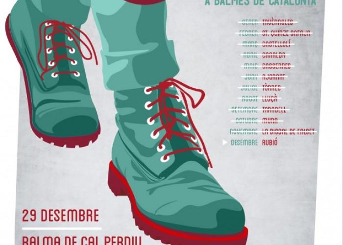 Cloenda del cicle de caminades a balmes de Catalunya a la Serra de Rubió
