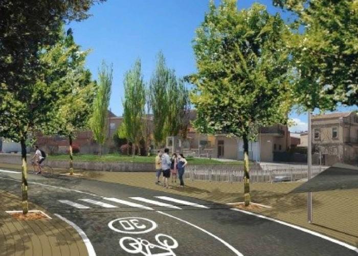 S'inicien les obres per transformar en un passeig la carretera de Manresa