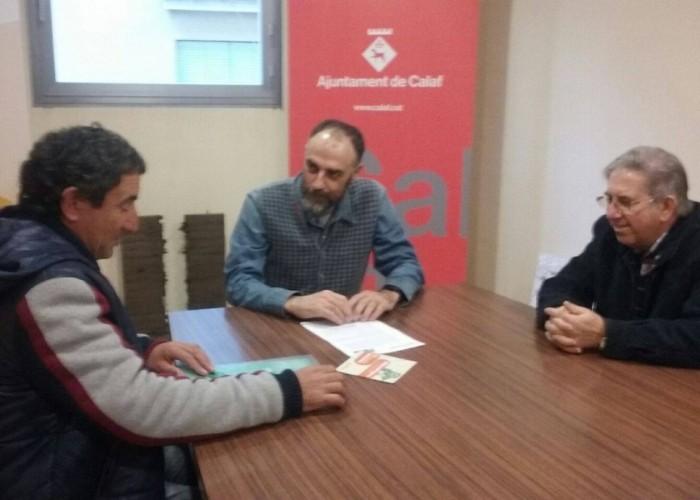Calaf dóna suport a la Unió de Pagesos en la marxa per la dignitat de la pagesia