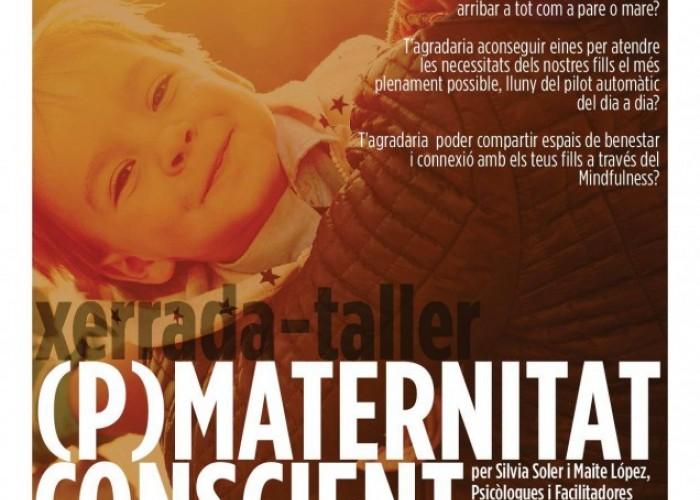 L'AMPA de l'escola programa un taller sobre '(P)Maternitat Conscient'