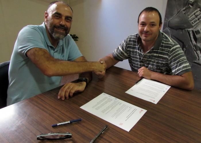Conveni de col·laboració entre l'Ajuntament i el Club Tennis Taula Calaf