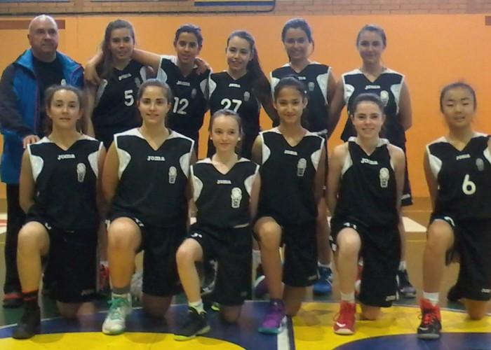 L'equip infantil femení del CB Calaf es proclama campió territorial