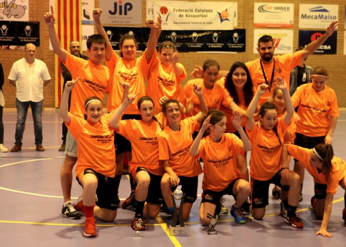 El Vendrell s'imposa en la final del Camiponat de Catalunya de bàsquet infantil femení celebrada a Calaf