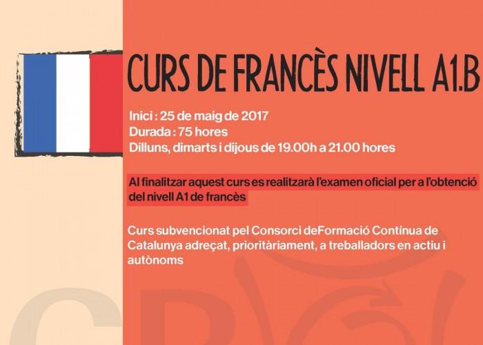 Nou curs de francès al CRO