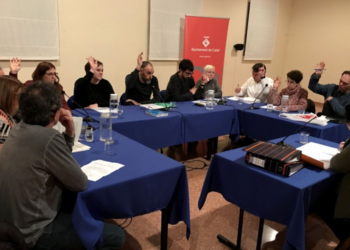 El ple de l'Ajuntament de Calaf aprova una nova ordenança de civisme i convivència vilatana