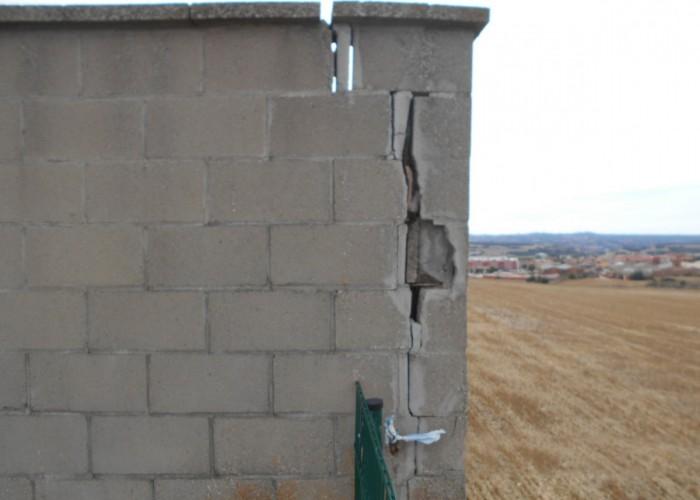 Es faran obres al mur del cementiri municipal
