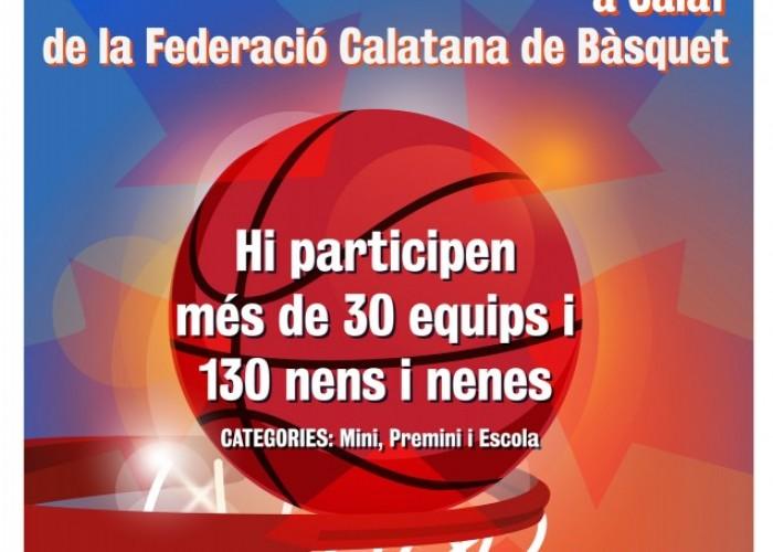 Calaf acull la 4a trobada de Clubs de la Federació Catalana de Bàsquet