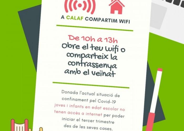 Crida a la ciutadania per obrir el wifi i cedir dispositius electrònics a alumnes sense recursos