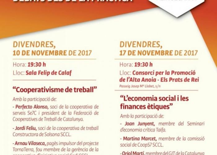 Taules rodones de l'Economia Social i Solidària a l'Alta Segarra