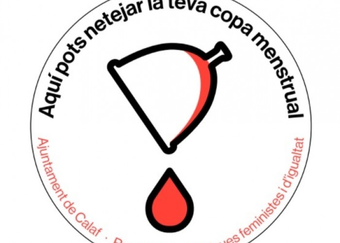 L'Ajuntament de Calaf impulsa una campanya de senyalització per trencar el tabú de la menstruació