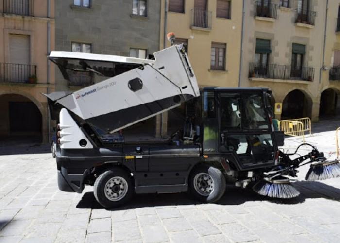 Convocatòria d'urgència per cobrir una plaça de peó de neteja viària