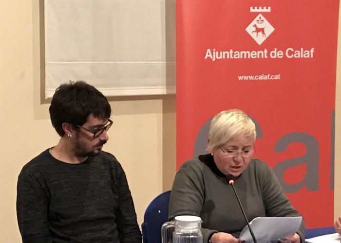El ple de l'Ajuntament de Calaf aprova per unanimitat una moció d'adhesió al Pacte Nacional pel Referèndum