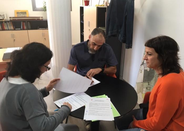 El C.A.P i l'Ajuntament de Calaf signen un conveni per fomentar la salut