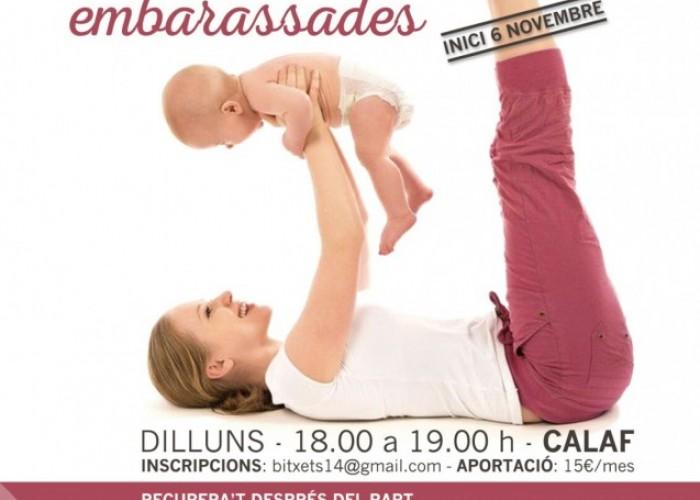 Bitxets 14 organitza classes de ioga amb nadons i dones embarassades