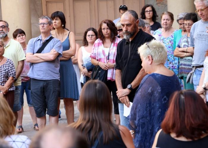 Un minut de silenci per les víctimes dels atemptats a Barcelona i Cambrils