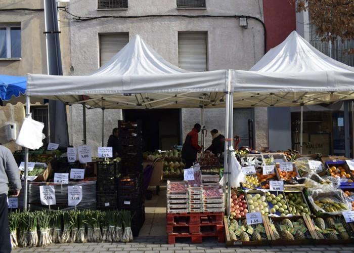 El mercat de Calaf posa a disposició d'entitats, negocis o comerciants un nou espai promocional