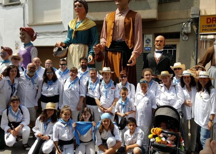 Els geganters i grallers de Calaf representen l'Anoia a la Ciutat Gegantera del 2018