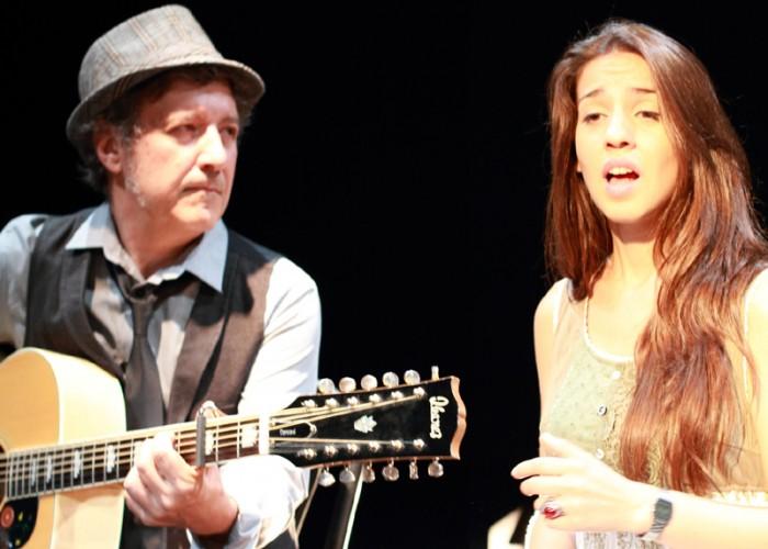 Gemma Humet i Toni Xuclà tanquen la primera edició del Festival MEB de Calaf, músiques per escampar la boira