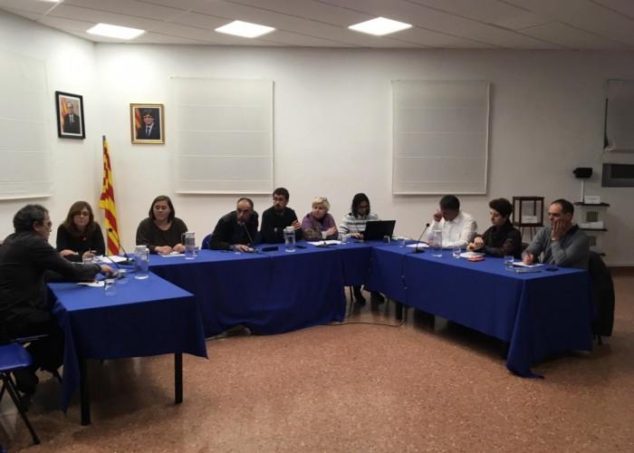 El Ple aprova una moció de suport als bombers del parc de Calaf per la millora dels seus mitjans i condicions professionals