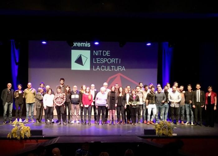 La Nit de l'Esport i la Cultura entrega setze guardons en una gala amb musical inclòs