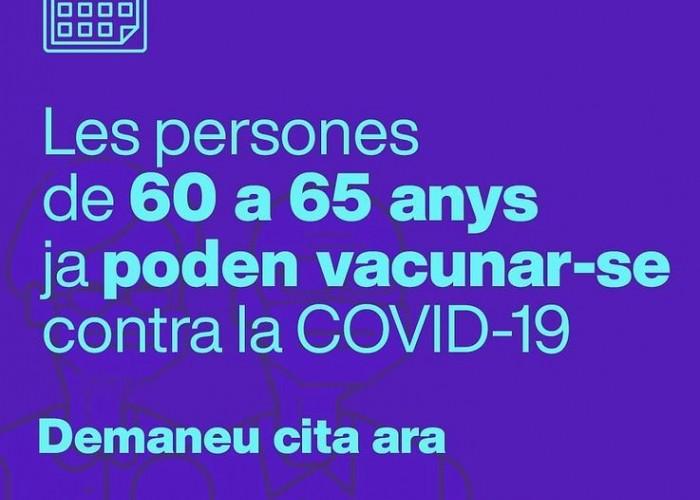 Novetats vacunació Calaf